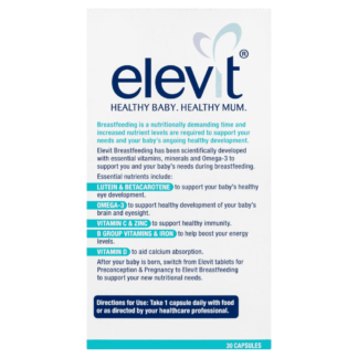 Elevit Breastfeeding Multivitamin 30 Capsules