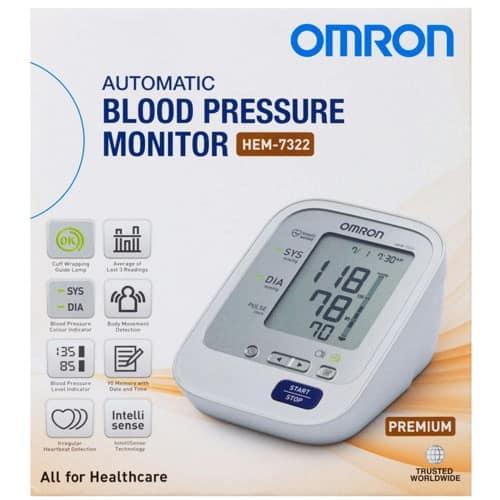 Omron HEM-7322 Blood Pressure Monitor - Premium - Astley