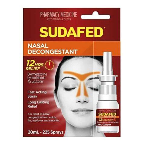 Sudafed Nasal Decongestant Spray 20mL