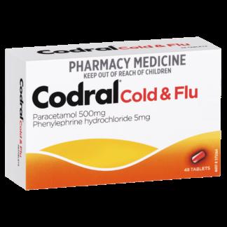 Codral Cold & Flu 48 Tablets