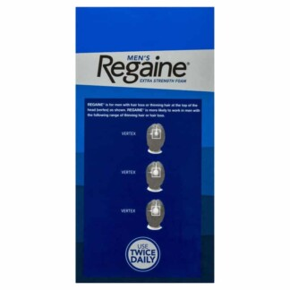 $50 CASHBACK* Regaine Men's Extra Strength Foam 4 x 60g (4 Months Supply)