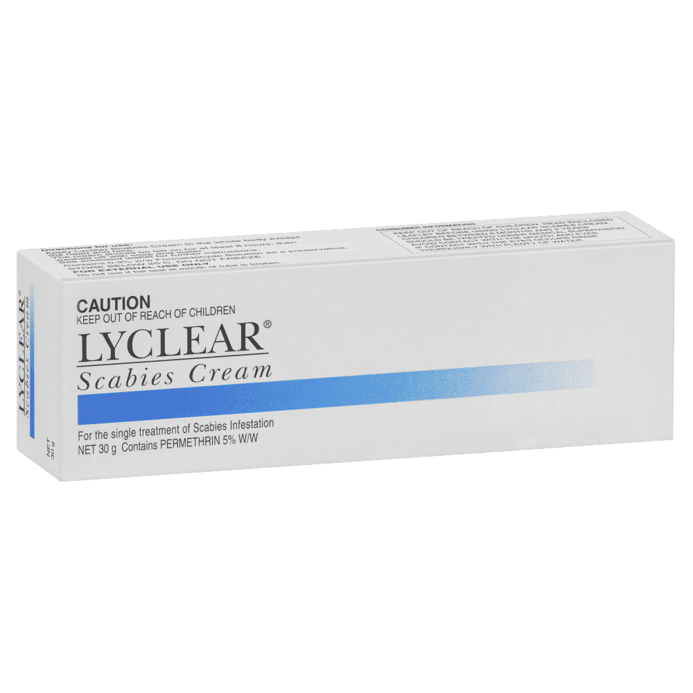 Lyclear Scabies Cream 30g Single Treatment Of Scabies Infestation Ebay
