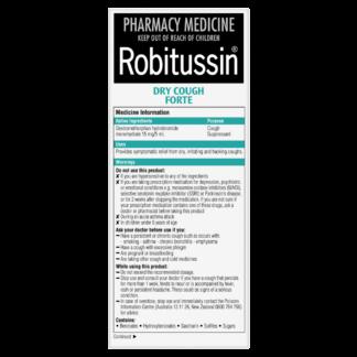 Robitussin Dry Cough Forte 200mL Oral Liquid