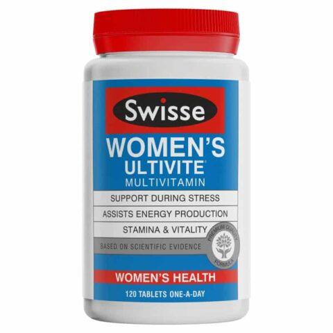 Swisse Women's Ultivite Multivitamin 120 Tablets