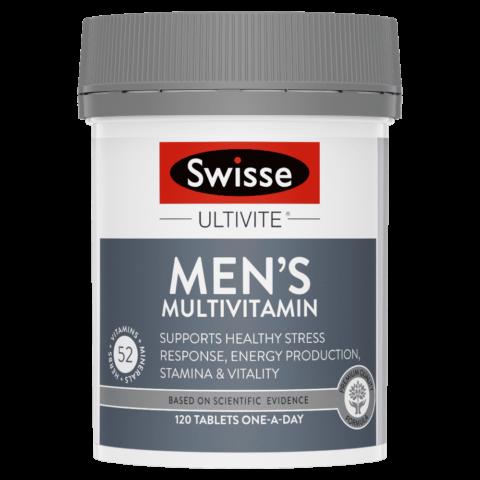 Swisse Ultivite Men's Multivitamin 120 Tablets