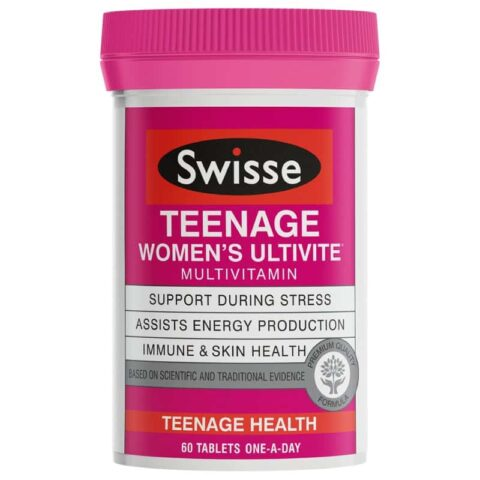 Swisse Teenage Women's Ultivite Multivitamin 60 Tablets