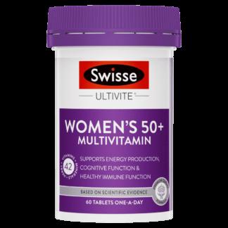 Swisse Ultivite Women's 50+ Multivitamin 60 Tablets