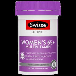 Swisse Ultivite Women's 65+ Multivitamin 60 Tablets