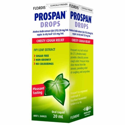 Prospan Drops Chesty Cough Relief 20mL