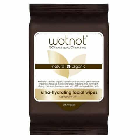 Wotnot Ultra-Hydrating Facial Wipes 25 Pack