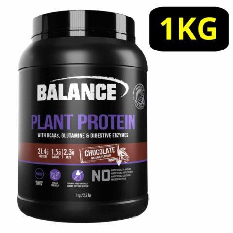 Balance Plant Protein Powder 1KG - Chocolate Flavour