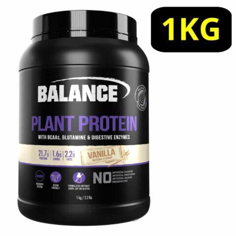 Balance Plant Protein Powder 1KG - Vanilla Flavour