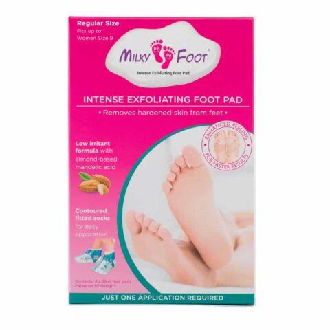 Milky Foot Intense Exfoliating Foot Pad - Regular