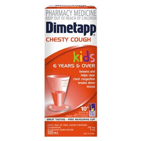Dimetapp Kids Chesty Cough 6 Years & Over 100mL