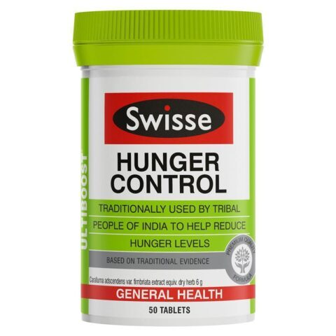 Swisse Hunger Control 50 Tablets