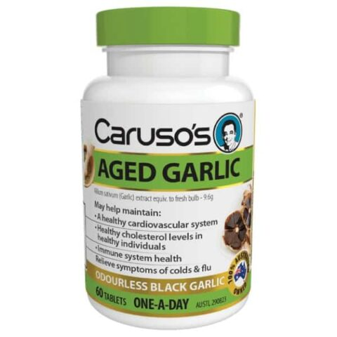 Caruso's Aged Garlic 60 Tablets