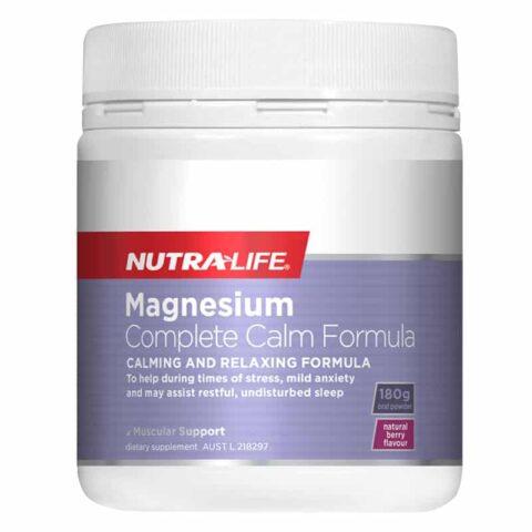 Nutra-Life Magnesium Complete Calm Formula 180g