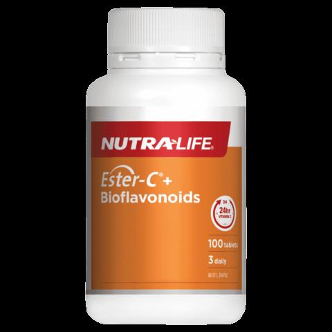 Nutra-Life Ester-C + Bioflavonoids 100 Tablets
