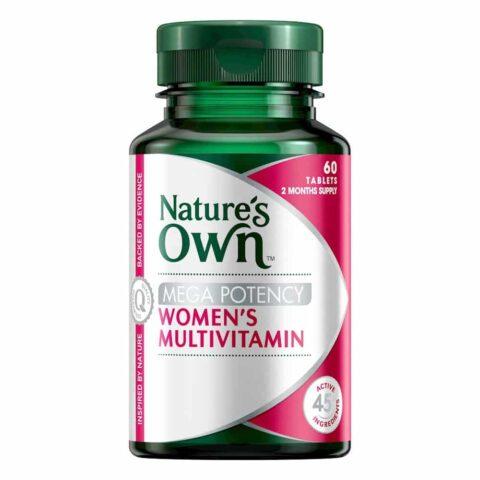 Nature's Own Mega Potency Women's Multivitamin 60 Tablets
