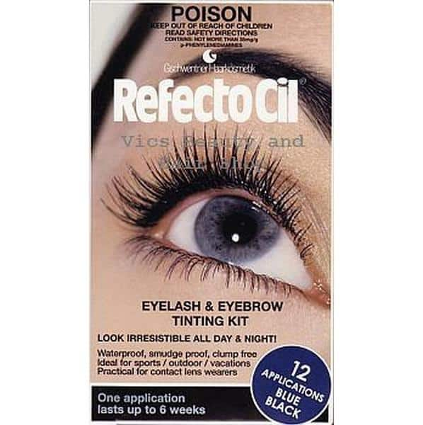 Refectocil Eyelash Eyebrow Tinting Kit Blue Black – Discount Chemist