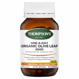 Thompson's One-A-Day Organic Olive Leaf 5000 60 Capsules