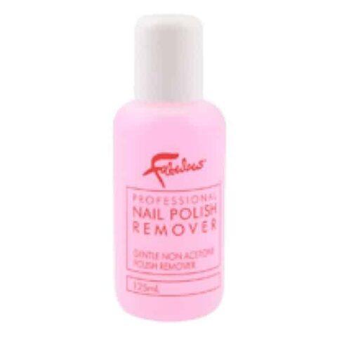 Fabuluscious Professional Nail Polish Remover Non Acetone 125ml Discount Chemist