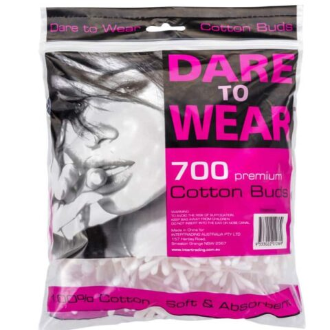 Dare To Wear Premium Cotton Buds 700 Pack