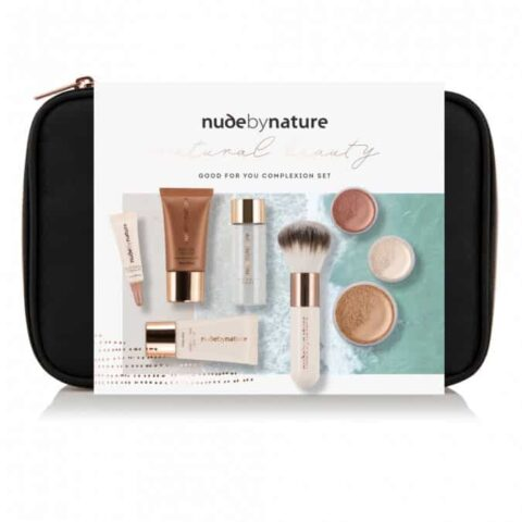 Nude By Nature Natural Beauty Complexion Set - Light / Medium