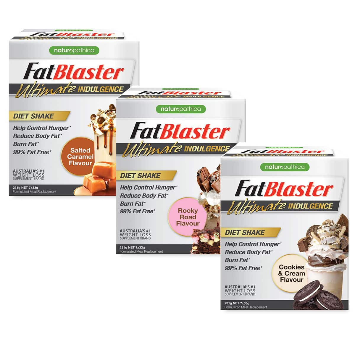 Fatblaster Ultimate Indulgence Diet Shake 231g