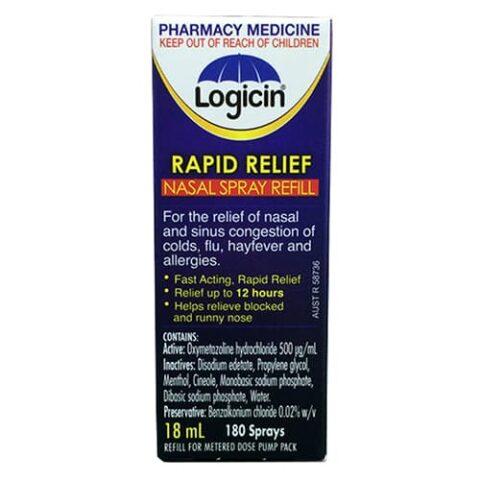 Logicin Nasal Spray Refill 18mL