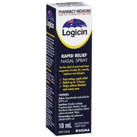 Logicin Nasal Spray 18mL