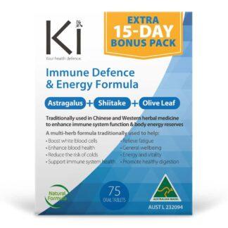 Ki Immune Defence & Energy Formula 75 Tablets