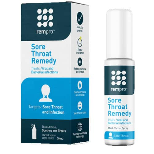 Rempro Sore Throat Remedy Spray 30mL