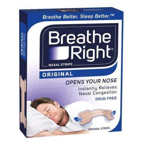 Breathe Right Original Tan Nasal Strips