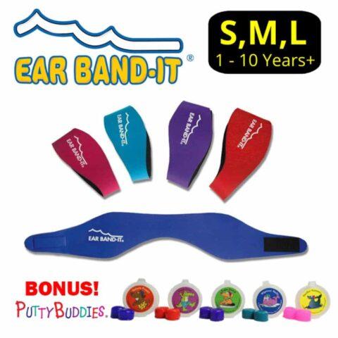 Ear Band-It Original Adjustable Neoprene Headband