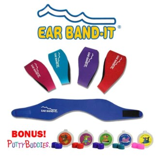 Ear Band-It Original Adjustable Neoprene Headband