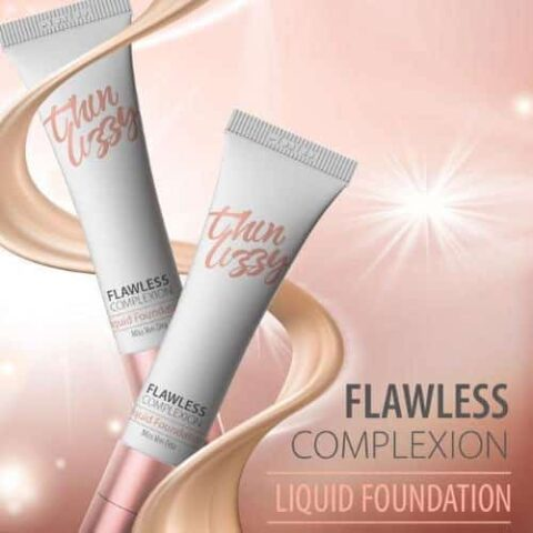 Thin Lizzy Flawless Complexion Liquid Foundation 30mL