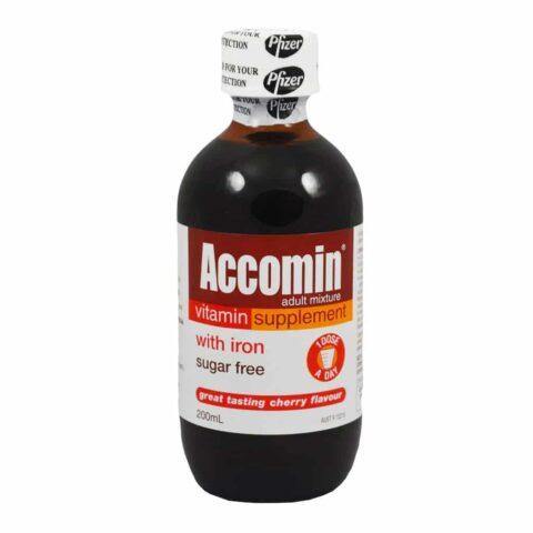 Accomin Vitamin Supplement 200mL