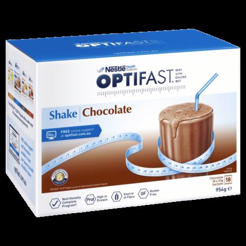Optifast VLCD Chocolate Shake 18 x 53g Sachets