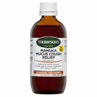 Thompson's Manuka Mucus Cough Relief 200mL Oral Liquid