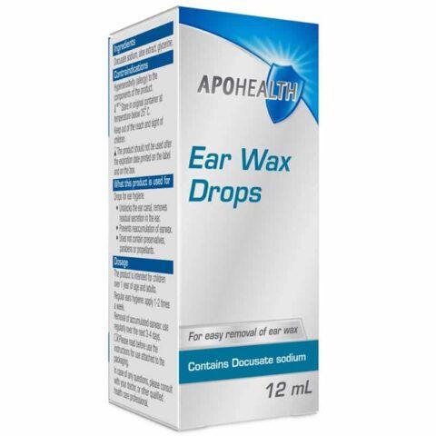 APOHEALTH Ear Wax Drops 12mL