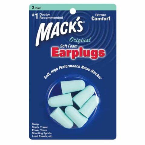 Mack's Original Soft Foam Earplugs 3 Pair