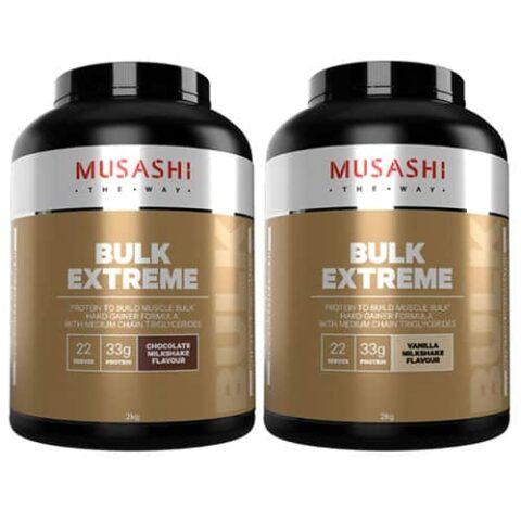 MUSASHI Bulk Extreme Protein Powder 2KG