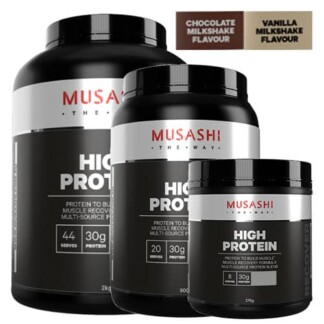 MUSASHI High Protein Powder