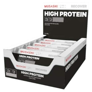 MUSASHI High Protein 12 x 90g Bars