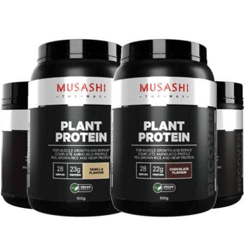 MUSASHI Plant Protein Powder