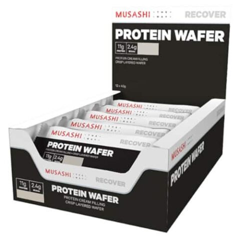 MUSASHI Protein Wafer 12 x 40g Bars