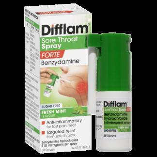 Difflam Sore Throat Spray Forte 88 Sprays 15mL