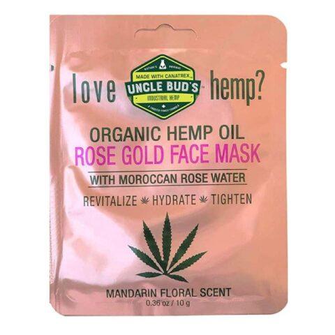 Uncle Bud's Rose Gold Face Mask 10g