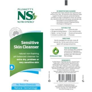 NS Sensitive Skin Cleanser 100g